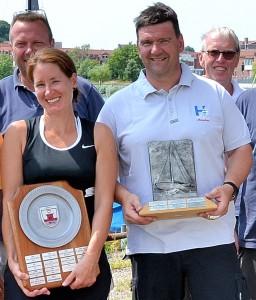 Platz 1: Christoph v.Buddenbrock & Sabine Duwe